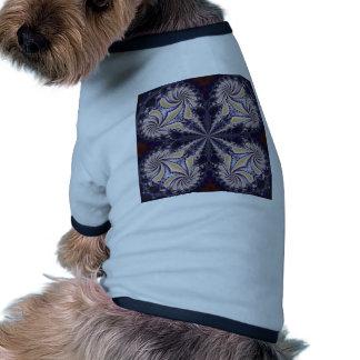 Fractal 592 dog tee shirt