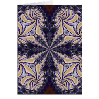 Fractal 592 greeting card
