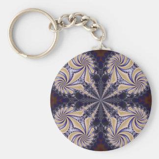 Fractal 592 keychain