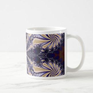 Fractal 592 basic white mug