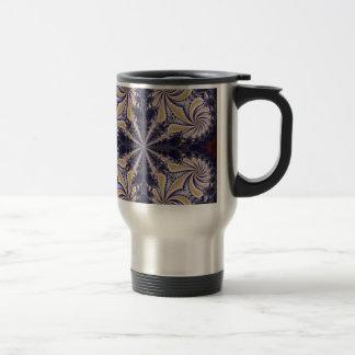 Fractal 592 stainless steel travel mug