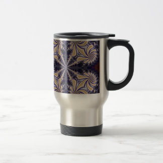 Fractal 592 stainless steel travel mug