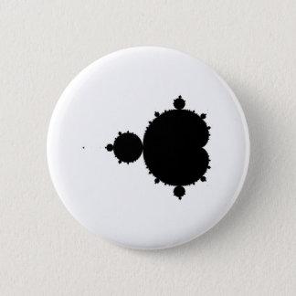 Fractal 6 Cm Round Badge
