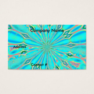 Fractal 88, Business Card