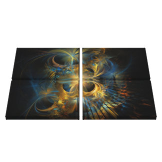 Fractal Abstract #4 Canvas Print