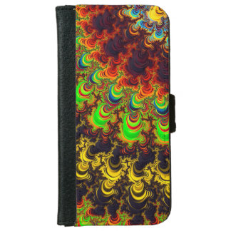 Fractal Abstract iPhone6 Wallet Case