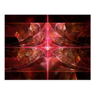 Fractal - Abstract - The essecence of simplicity Post Card