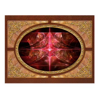 Fractal - Abstract - The essecence of simplicity Postcard