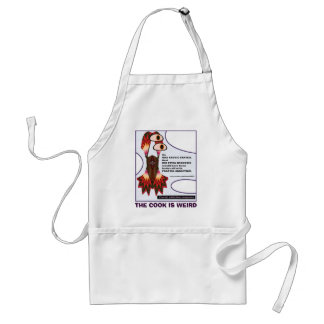 fractal addiction anagrams 11, THE COOK IS WEIRD Standard Apron