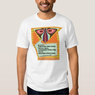 fractal addiction anagrams 3 by fractalart t shirts