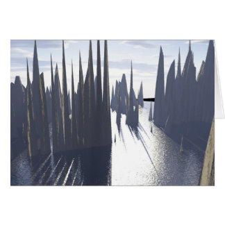 fractal anomalies 1 greeting card