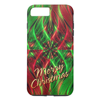 Fractal Art 39 Merry Christmas Options iPhone 8 Plus/7 Plus Case