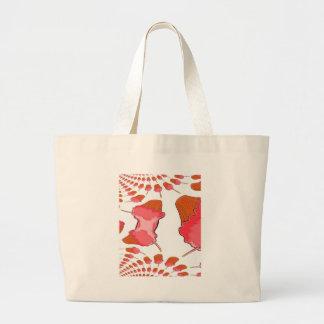 Fractal art birthday girl art tote bags