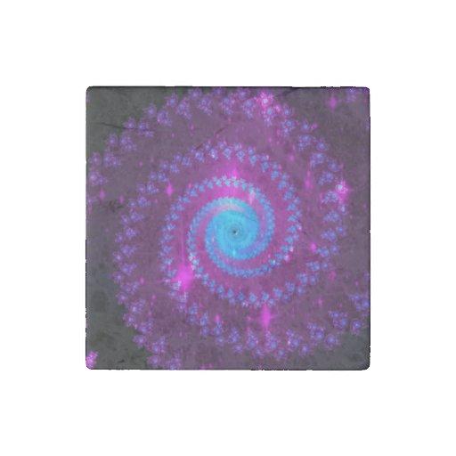 Fractal Art Stone Magnet