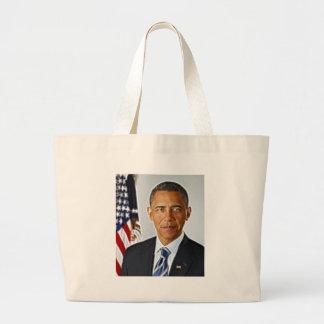 Fractal Art, Official Portrait Barack Obama Bag