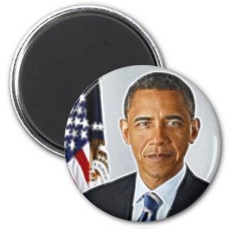 Fractal Art, Official Portrait Barack Obama Magnet