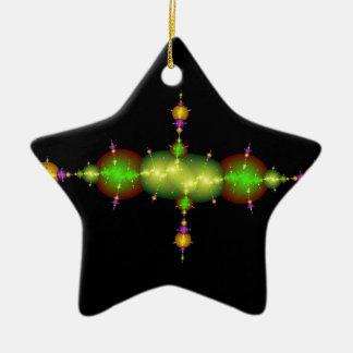fractal arts ceramic star decoration
