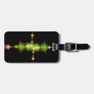 fractal arts luggage tag