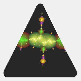 fractal arts triangle sticker