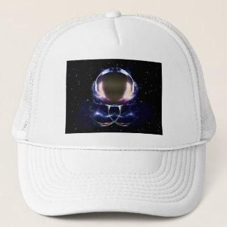 Fractal Astronaut Trucker Hat