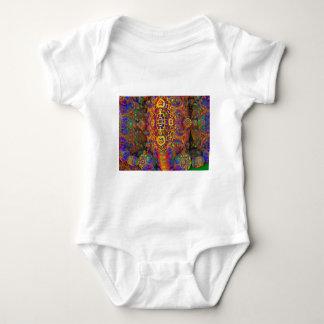 Fractal Baby Bodysuit