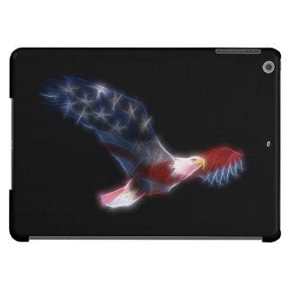 Fractal Bald Eagle Flag Patriotic iPad Air Case