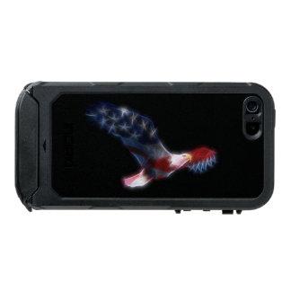 Fractal Bald Eagle Flag Patriotic iPhone 5 Case Incipio ATLAS ID™ iPhone 5 Case
