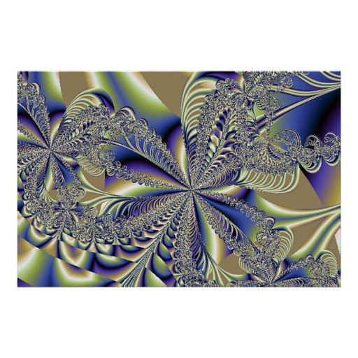 Fractal Beauty Within Poster