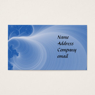 Fractal bizcard business card