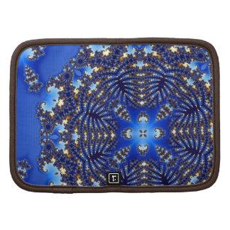 Fractal Blue Snowflake Organizer
