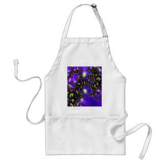 Fractal Blue Stairway to Heaven Apron