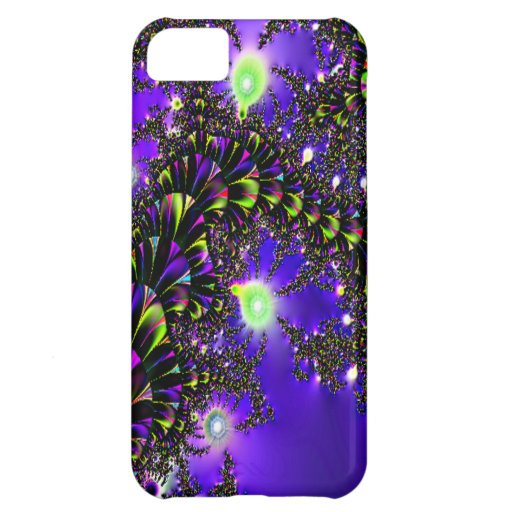 Fractal Blue Stairway to Heaven iPhone 5C Cases