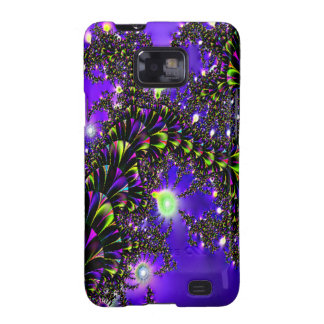 Fractal Blue Stairway to Heaven Galaxy S2 Cases