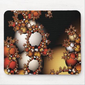 Fractal Bubbles Mouse Mat