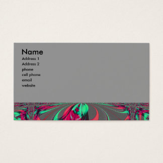 fractal business card