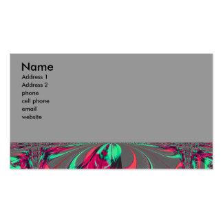 fractal business card template