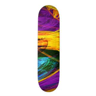 Fractal - Butterfly Wing Closeup Skate Board