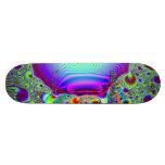 Fractal C~09 Triptych #2 Sick Stick Pro Skateboard