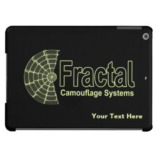 Fractal Camouflage Systems Logo iPad Air Case