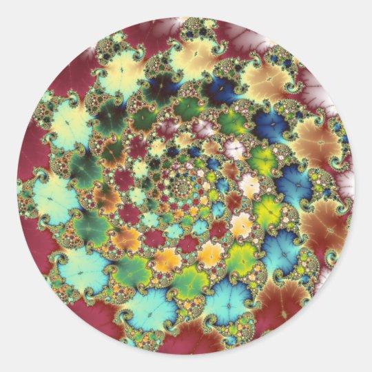 Fractal Cells - Fractal Sticker