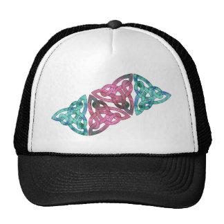 Fractal Celtic Knot Cap Hat