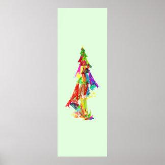 Fractal - Christmas Tree Poster