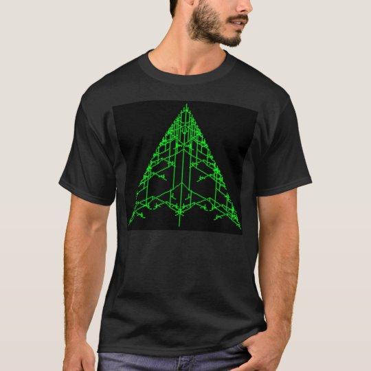 Fractal Christmas Tree T-Shirt