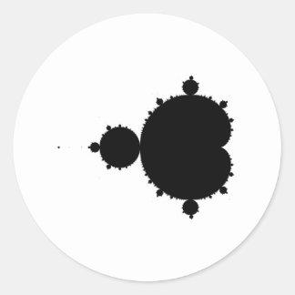 Fractal Classic Round Sticker