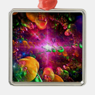 Fractal collection christmas ornament