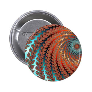 Fractal Color Image 6 Cm Round Badge