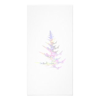 Fractal - Colorful Christmas Tree Picture Card