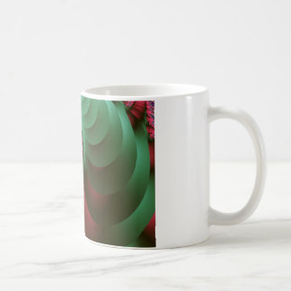 fractal Coloured  Spirals. Coffee Mug