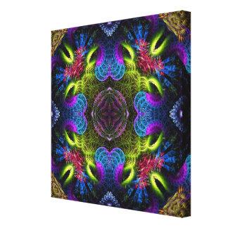 Fractal Colours Geometric Art Canvas Canvas Prints