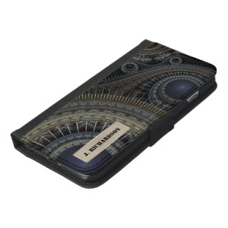 Fractal Compass iPhone 6/6s Wallet Case